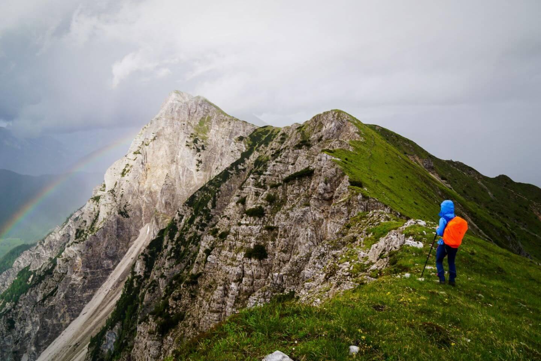 Košuta ridge, Veliki Vrh Hike, Karavanke, Slovenian Alps