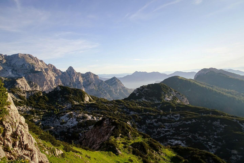 Rjavina ridge, Viševnik Day Hike, Julian Alps, Slovenia