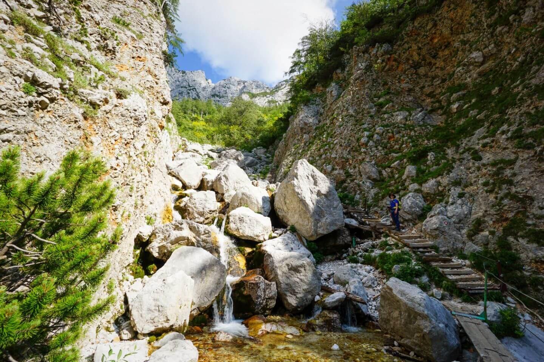 Savinja cascading, Kamnik-Savinja Alps