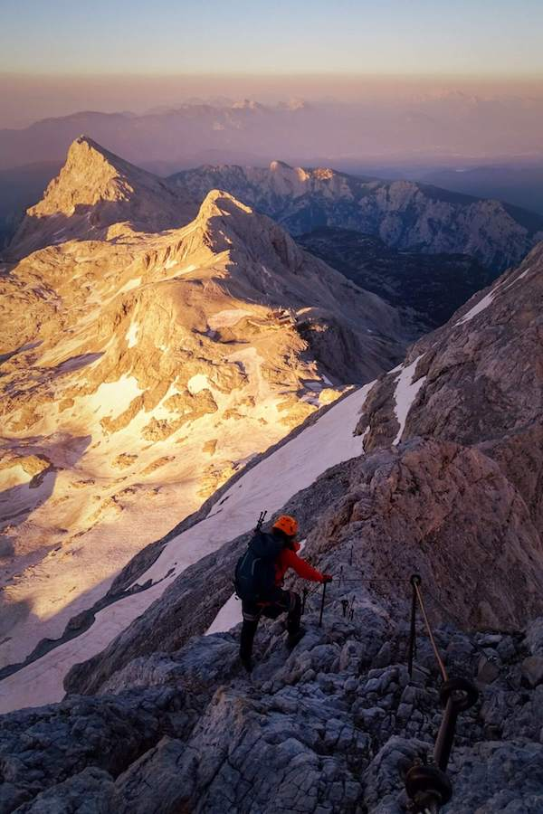 Climbing Mount Triglav, Julian Alps Hiking Guide