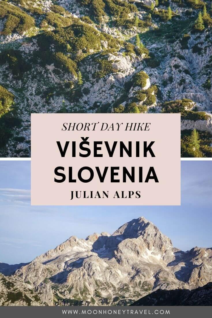Viševnik Peak, Short Day Hike in the Julian Alps, Slovenia
