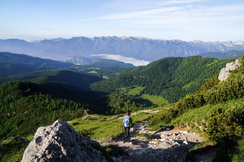 Viševnik to Rudno Polje Hike, Slovenian Alps