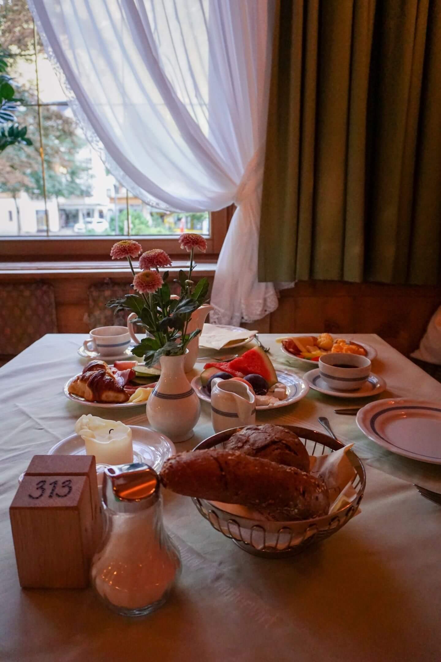 Alpenhotel Kramerwirt Breakfast, Mayrhofen, Austria - Best Places to Stay in Austria in Summer