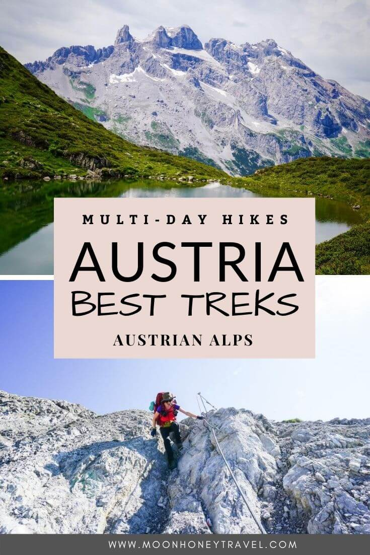 Multi-Day and Long Distance Treks in Austria