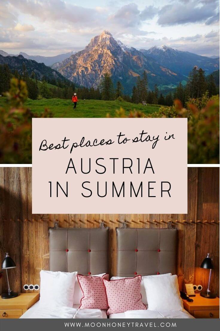Best Places to Stay in Austria in Summer