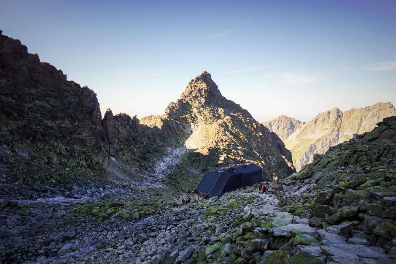 Chata pod Rysmi Rysy mountain hut, High Tatras Mountians, Slovakia
