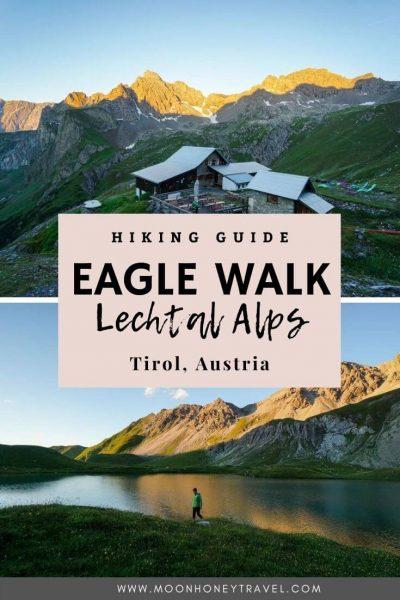 Eagle Walk Lechtal Alps Hiking Guide