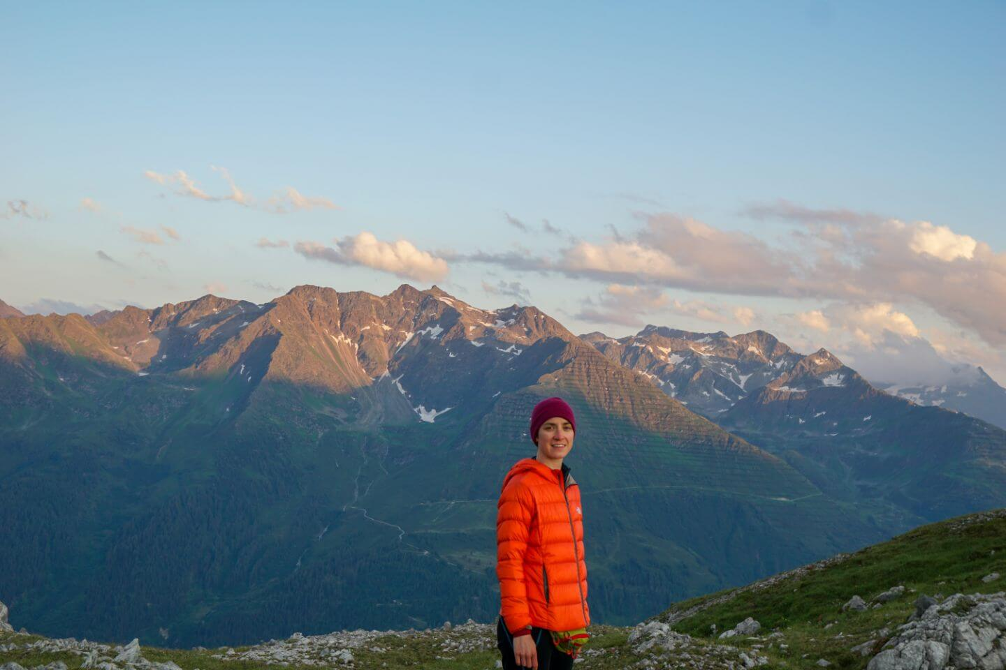 Verwall Mountains from the Lechtal Alps, Austria
