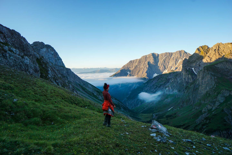 Zams Valley, Lechtal Alps, Tirol, Eagle Walk, Austria