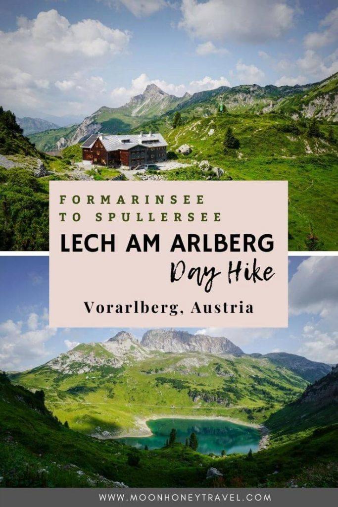 Formarinsee Wanderung zum Spullersee, Lechquellengebirge, Österreich