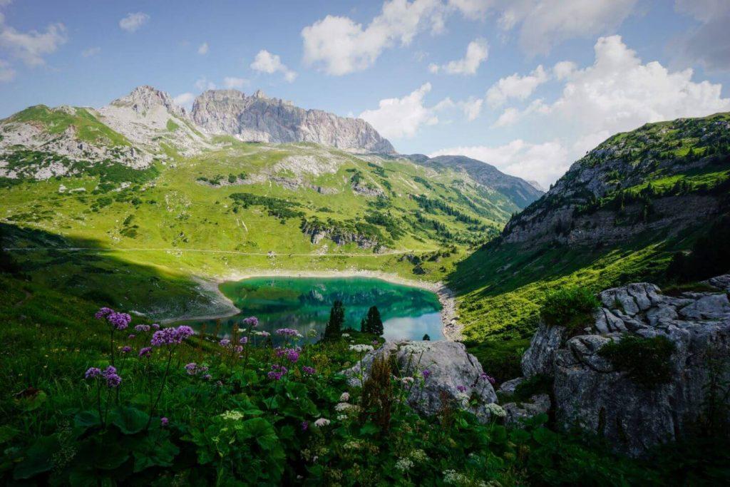Lechquellen Mountains, Austrian Alps