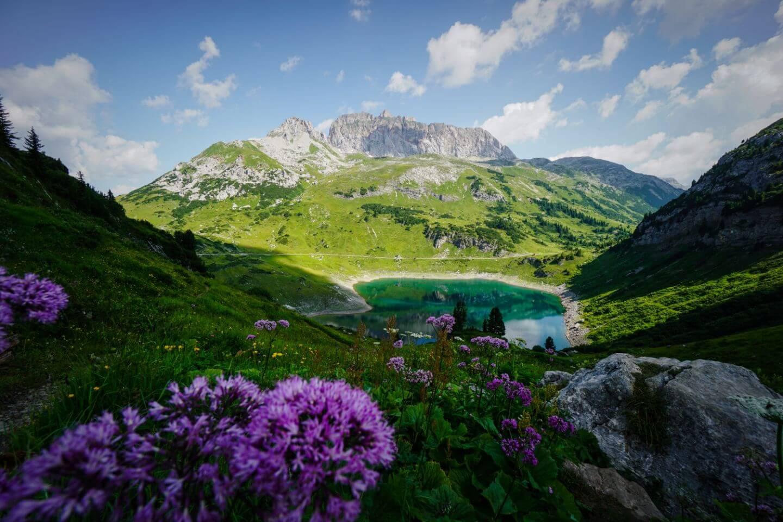 Formarinsee, Lechquellen Mountains, Vorarlberg