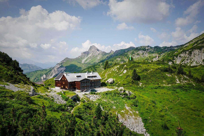Freiburger Hütte, Formarinsee, Vorarlberg