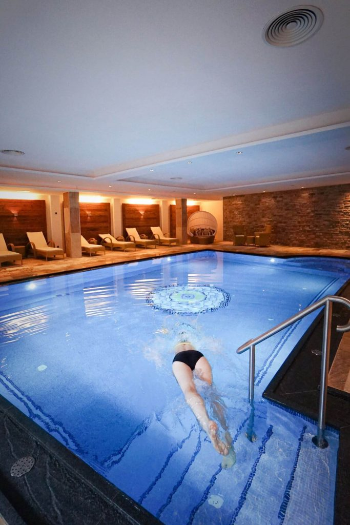 Hotel Gotthard Swimming Pool in Lech am Arlberg
