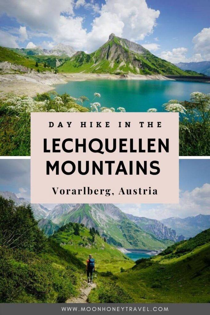Formarinsee: Wanderung zum Spullersee, Vorarlberg, Österreich