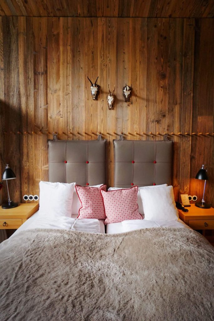 Löwen Hotel Montafon Bedroom, Schruns, Best Places to Stay in Austria in Summer