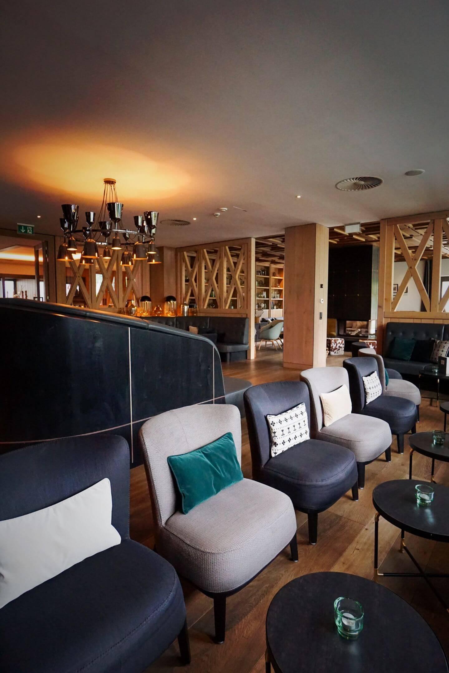 Löwen Hotel Montafon Lobby, Schruns, Best Places to Stay in Austria in Summer