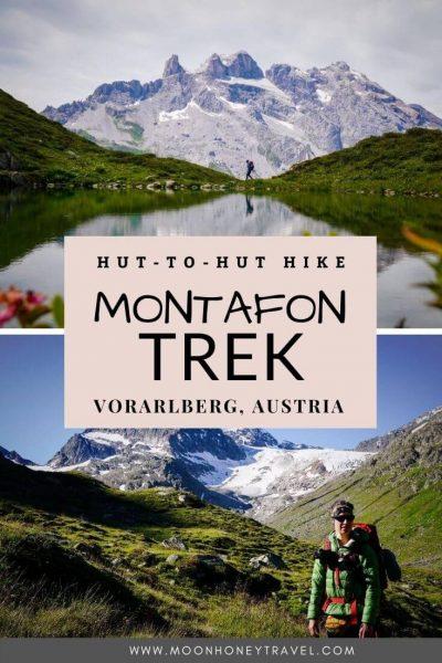 Montafon Trek - Hut to Hut Hiking Trail in the Silvretta Mountains in Vorarlberg, Austria