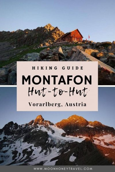 Montafon Hike across the Silvretta Mountains in Vorarlberg, Austria