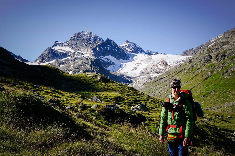 Piz Buin, Silvretta Mountains, Vorarlberg, Austria