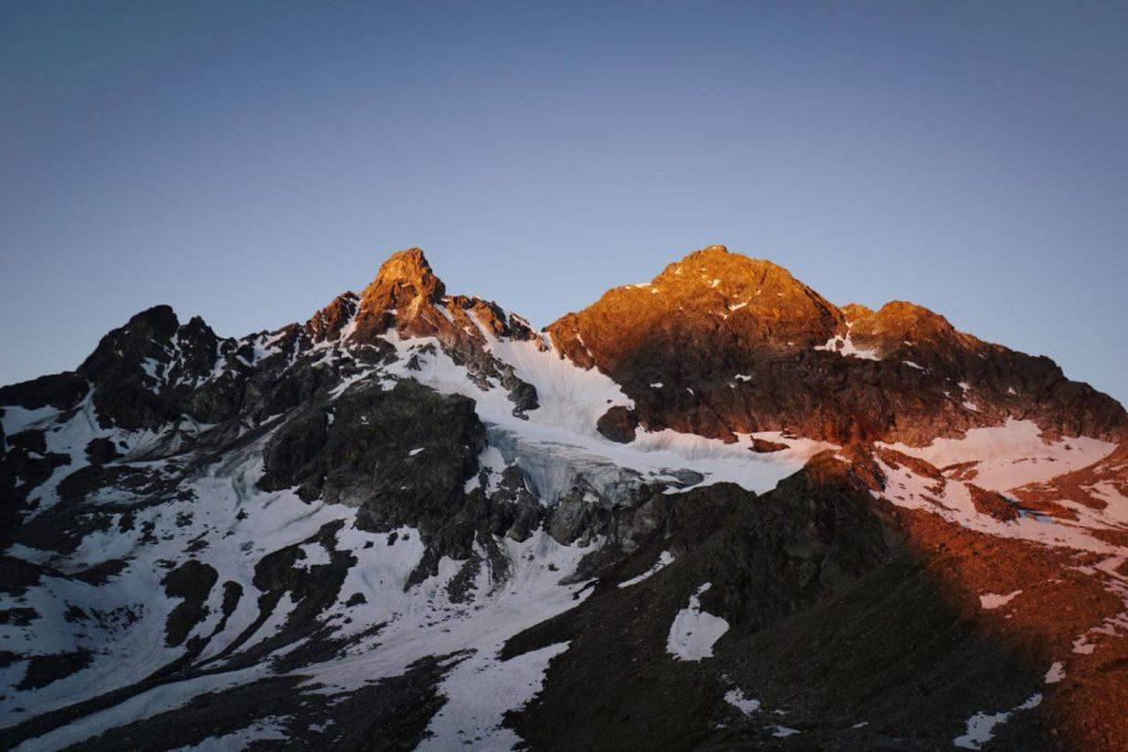 Silvretta Alps, Austrian Alps