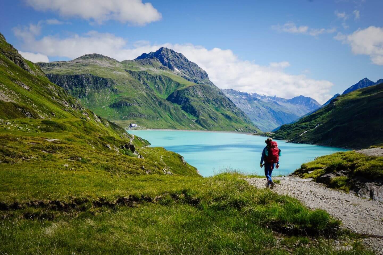 Silvretta Reservoir, Silvretta Alps, Austrian Alps