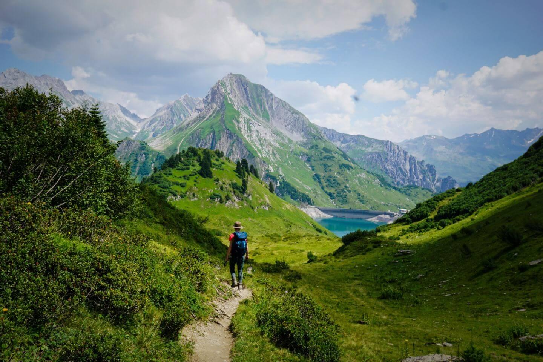 Hike to Spullersee, Lechquellen, Austria