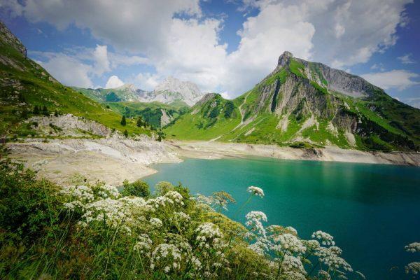 Spullersee, Lechquellen Mountains, Lech am Arlberg, Austria