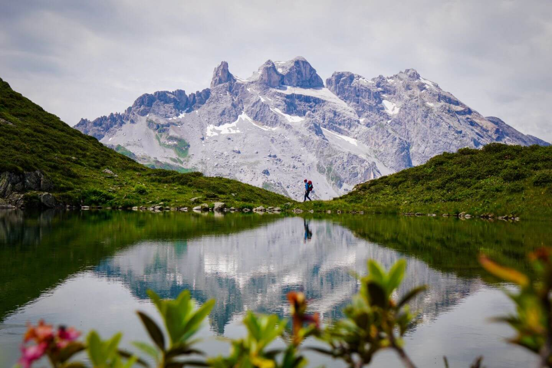 Lake Tobelsee, Rätikon Alps, Austria