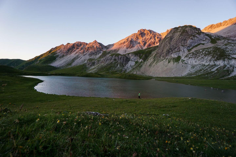 Unterer Seewisee, Lechtal Alps, Austria