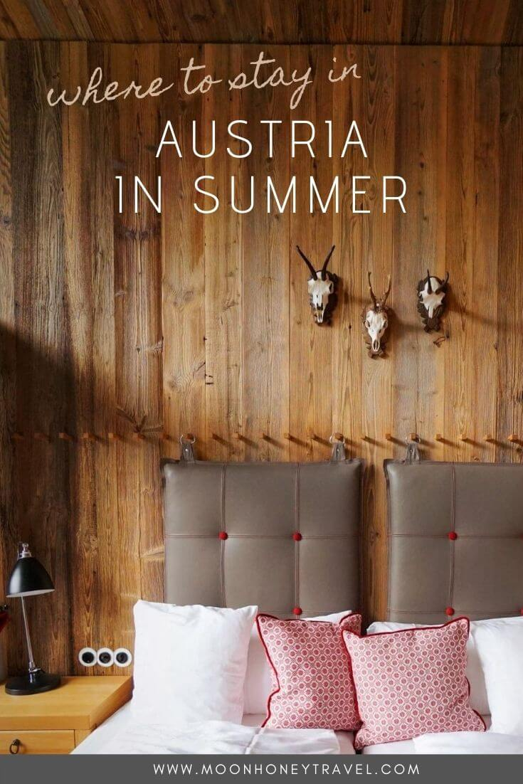 Where to Stay in Austria in Summer