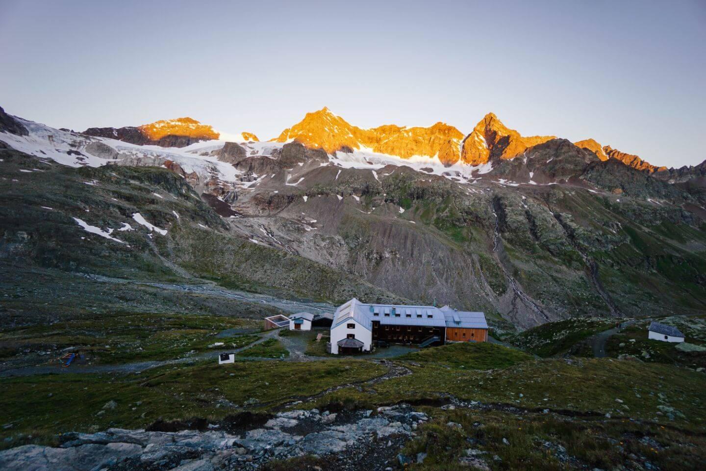 Wiesbadener Hütte, Silvretta Mountains, Vorarlberg, Austria