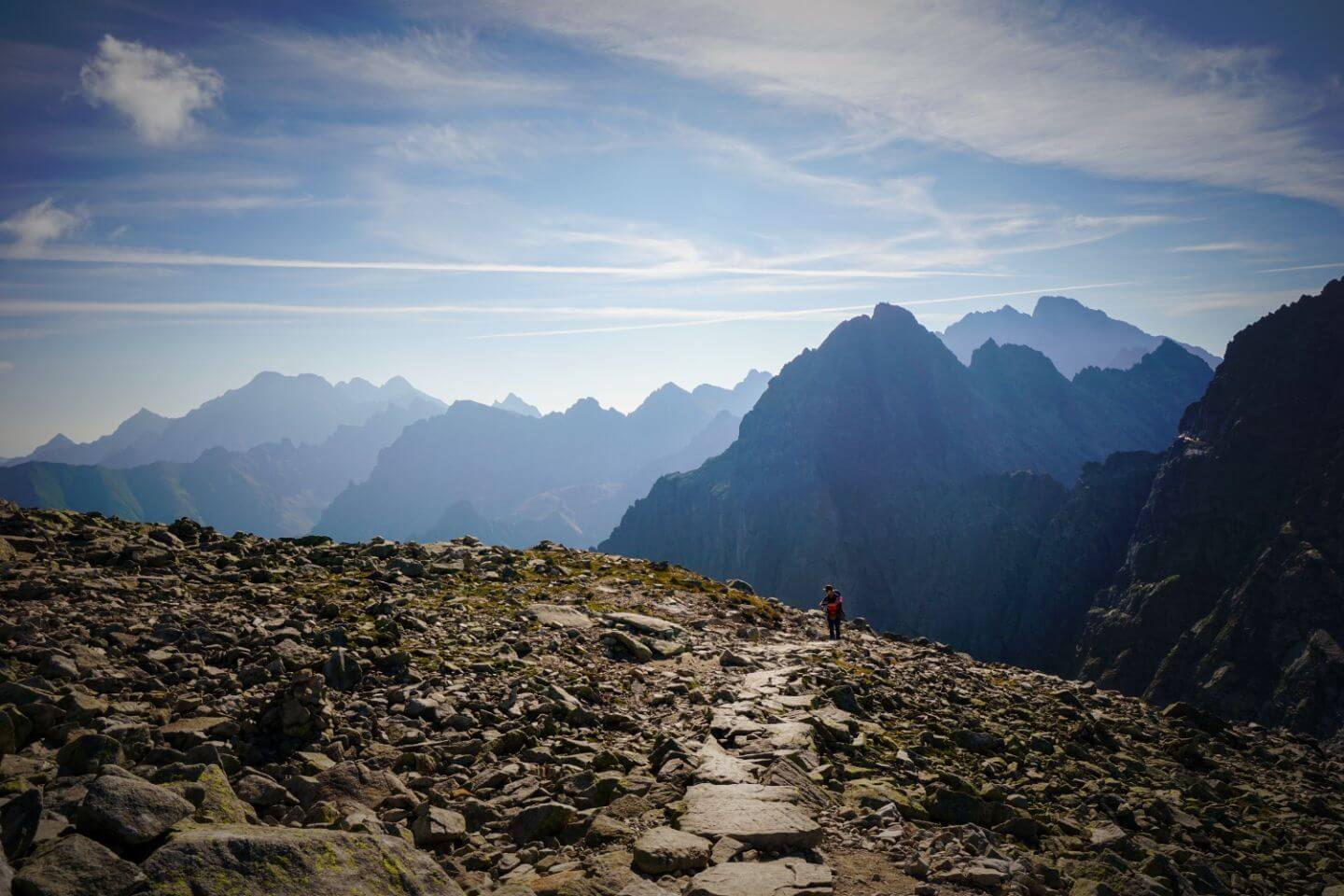 Rysy Summit Hike, High Tatras, Slovakia, Poland