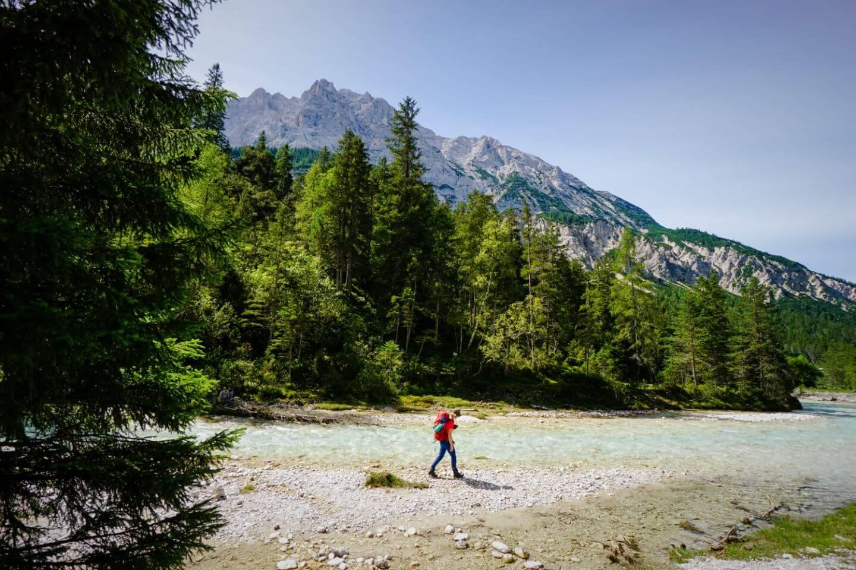 Karwendel Nature Park Hinterautal, Tirol, Austria