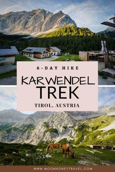 Karwendel High Trail, Tirol, Austria - 6 Day Hut to Hut Hiking Trail