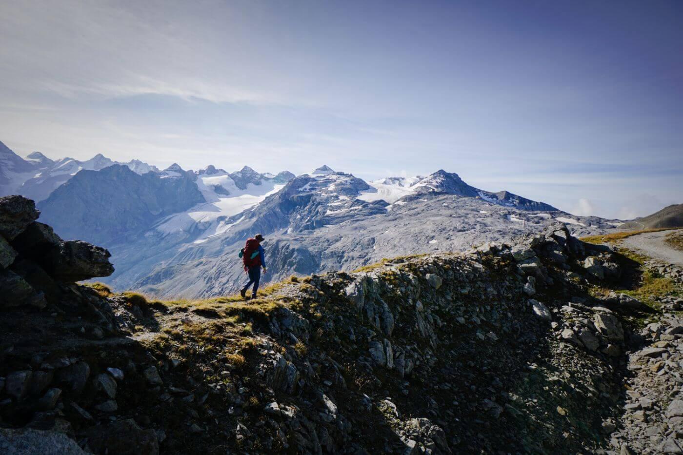 Ortler High Mountain Trail Trekking Guide, Goldseeweg