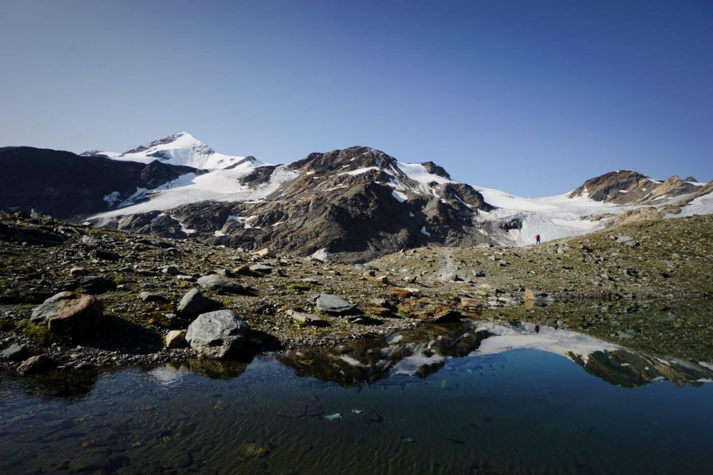 Ortler High Trail, Upper Martell Valley, Italian Alps