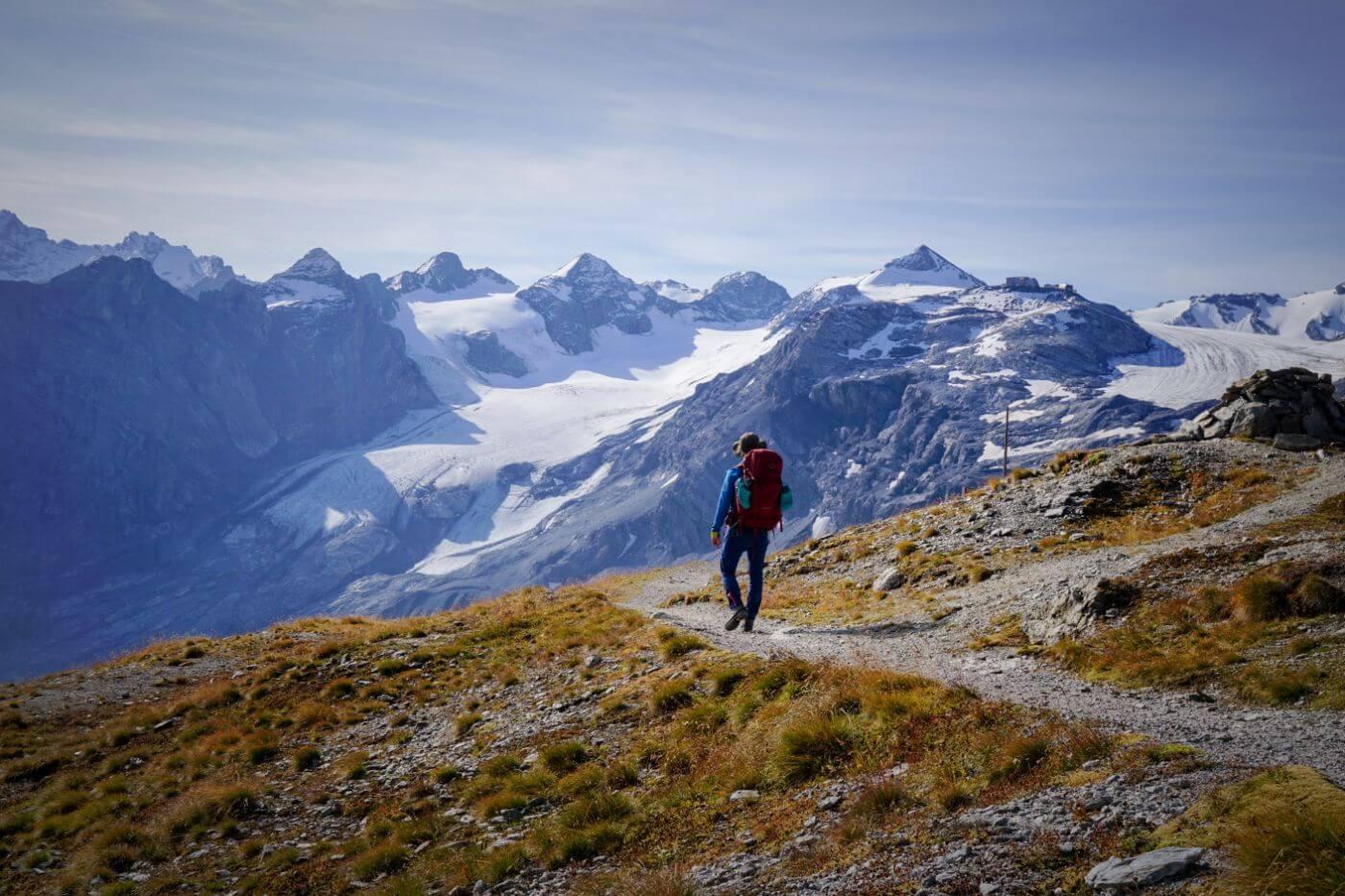 Stelvio Pass to Stelvio / Stilfs, Ortler High Trail Stage 1, South Tyrol