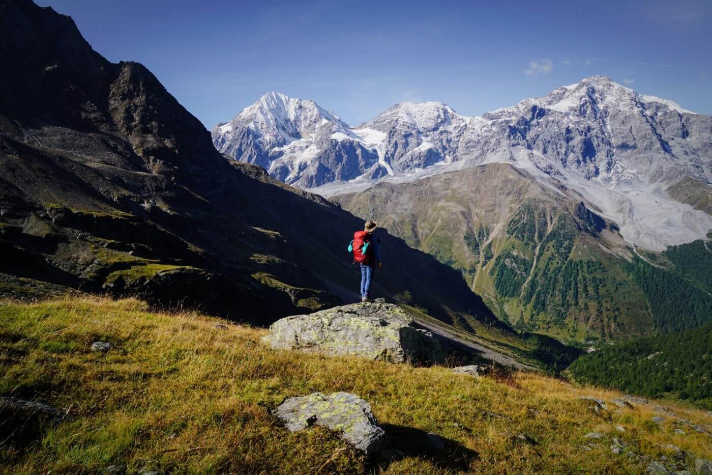 Ortler, Zebru, Königsspitze, Ortler High Mountain Trail Stage 3
