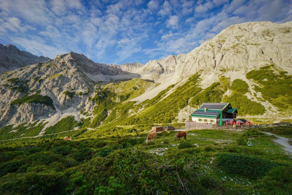 Pfeishütte, Karwendel High Trail, Austria