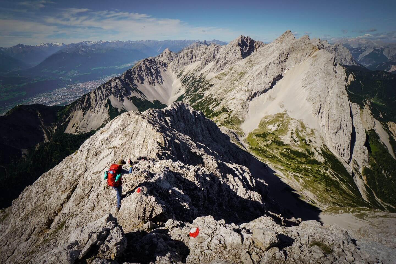 Hiking Speckkarspitze, Karwendel, Tirol, Austria