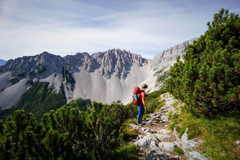Wilde Bande Steig, Karwendel High Trail, Tirol, Austria