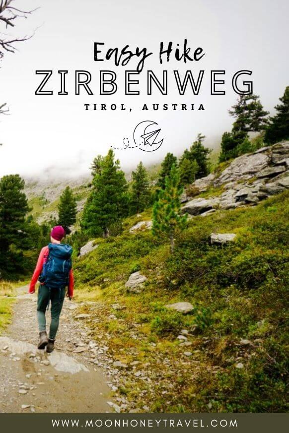 Zirbenweg (Stone Pine Path), Short Hike near Innsbruck