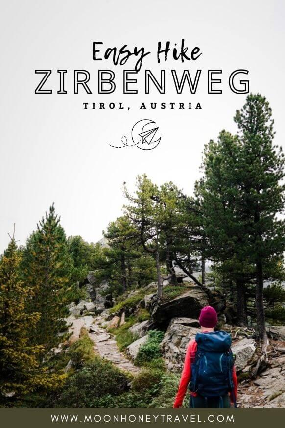 Zirbenweg (Stone Pine Path), Easy Hike near Innsbruck