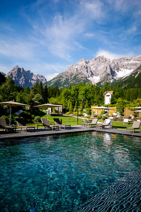 Bad Moos Dolomites Spa Resort Pool