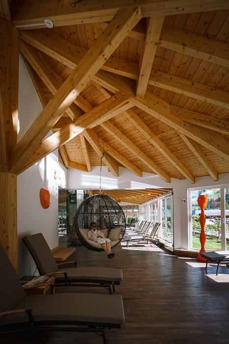 Bad Moos Dolomites Spa Resort Relaxation Area