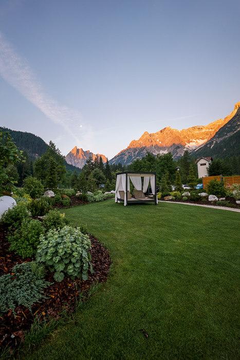 Bad Moos Dolomites Spa Resort Sunrise