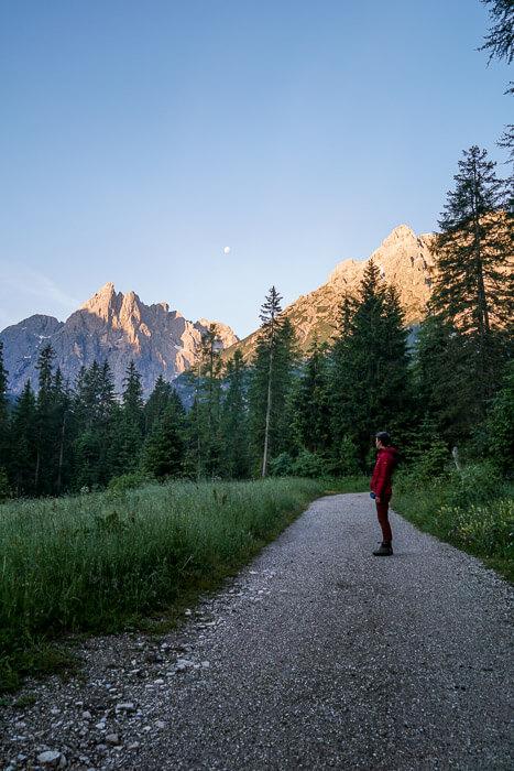 Val Fiscalina Sunrise, Sesto, Dolomites