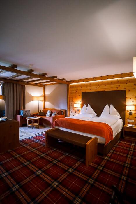 Bad Moos Dolomites Spa Resort Bedroom