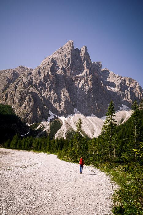 Einserkofel (Cima Uno), Val Fiscalina, Dolomites